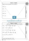 Stationsarbeit - Multiplikation und Division von Brüchen: Stationskärtchen, Lösungen, Arbeitsbögen Preview 6