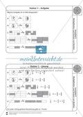 Multiplikation von Brüchen: Übungen und Lösung Preview 1