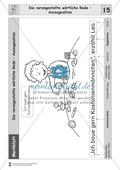 Die wörtliche Rede - Umfassendes Übungsmaterial für die 3./4. Klasse: Merkblätter, Arbeitsblätter und Lösungsblätter Preview 14