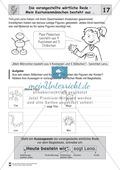 Die wörtliche Rede - Umfassendes Übungsmaterial für die 3./4. Klasse: Merkblätter, Arbeitsblätter und Lösungsblätter Preview 16