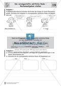 Die wörtliche Rede - Umfassendes Übungsmaterial für die 3./4. Klasse: Merkblätter, Arbeitsblätter und Lösungsblätter Preview 18