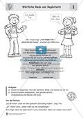 Die wörtliche Rede - Umfassendes Übungsmaterial für die 3./4. Klasse: Merkblätter, Arbeitsblätter und Lösungsblätter Preview 1