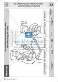 Die wörtliche Rede - Umfassendes Übungsmaterial für die 3./4. Klasse: Merkblätter, Arbeitsblätter und Lösungsblätter Preview 26