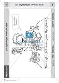 Die wörtliche Rede - Umfassendes Übungsmaterial für die 3./4. Klasse: Merkblätter, Arbeitsblätter und Lösungsblätter Preview 4