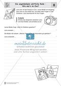Die wörtliche Rede - Umfassendes Übungsmaterial für die 3./4. Klasse: Merkblätter, Arbeitsblätter und Lösungsblätter Preview 8