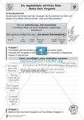 Die wörtliche Rede - Umfassendes Übungsmaterial für die 3./4. Klasse: Merkblätter, Arbeitsblätter und Lösungsblätter Preview 9