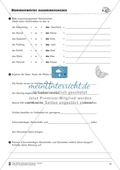 Namenwörter zusammensetzen: Arbeitsblätter Preview 10