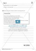 Tuwörter in der Vergangenheit: Arbeitsblätter, Rätsel und Test Preview 12