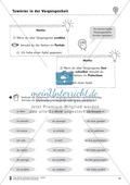 Tuwörter in der Vergangenheit: Arbeitsblätter, Rätsel und Test Preview 2