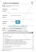 Tuwörter in der Vergangenheit: Arbeitsblätter, Rätsel und Test Preview 7