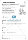 Tuwörter in der Vergangenheit: Arbeitsblätter, Rätsel und Test Preview 8