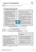 Tuwörter in der Vergangenheit: Arbeitsblätter, Rätsel und Test Preview 9