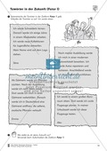 Tuwörter in der Zukunft: Arbeitsblätter und Test Preview 6