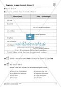 Tuwörter in der Zukunft: Arbeitsblätter und Test Preview 8