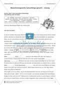 Abwechslungsreiche Satzanfänge: Übung und Lösung Preview 3