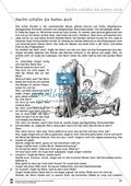 Deutsch, Literatur, Fiktionale Texte, Umgang mit fiktionalen Texten, Epik, Analyse fiktionaler Texte, Gattungen, Nachts schlafen die Ratten doch, Kurzgeschichte, Textverständnis