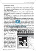Deutsch, Literatur, Fiktionale Texte, Umgang mit fiktionalen Texten, Epik, Dramatik, Analyse fiktionaler Texte, Gattungen, Das Fenster-Theater, Kurzgeschichte