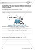 Leistungsdifferenzierte Wochenplanarbeit Rechtschreibung und Textarbeit: Übungen innerhalb einer Fantasiereise (in 3 Niveaustufen) und Lösungen Preview 31