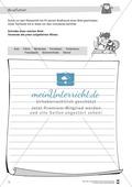 Leistungsdifferenzierte Wochenplanarbeit Rechtschreibung und Textarbeit: Übungen innerhalb einer Fantasiereise (in 3 Niveaustufen) und Lösungen Preview 9