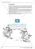 Unterrichtsbeispiele: Geschichten - Ritterzeit: Arbeitshinweise, Lesetexte, Gruppenkarten, Arbeitsblätter und Lösungen Preview 8