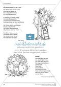 Unterrichtsbeispiele: Herbstgedichte: Arbeitshinweise und Arbeitskarten Preview 5
