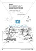 Unterrichtsbeispiele: Herbstgedichte: Arbeitshinweise und Arbeitskarten Preview 7