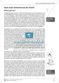 Bausteine für das Fundament: Noch mehr Sicherheit bei der Schrift, Merkblatt für Eltern Preview 1