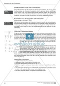 Bausteine für das Fundament: Sicherheit bei der Schreibschrift, Merkblatt für Eltern Preview 4