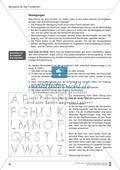 Bausteine für das Fundament: Sicherheit bei der Druckschrift, Merkblatt für Eltern Preview 3