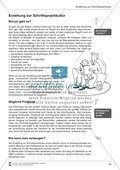 Bausteine für das Fundament: Erziehung zur Schriftsprachkultur, Merkblätter Eltern und Elternbrief Preview 1