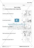 Leseförderung Wilde Tiere: Arbeitshinweise, Unterrichtsmodell, Bilder, Arbeitsblätter, Lesespiel und Kontrollblatt Preview 11