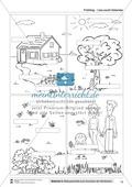 Vom Situationsbild zum Lesen, Thema Frühling: Unterrichtsentwurf und Materialien komplett Preview 10