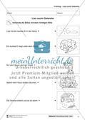 Vom Situationsbild zum Lesen, Thema Frühling: Unterrichtsentwurf und Materialien komplett Preview 12