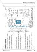 Vom Situationsbild zum Lesen, Thema Frühling: Unterrichtsentwurf und Materialien komplett Preview 14