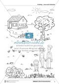 Vom Situationsbild zum Lesen, Thema Frühling: Unterrichtsentwurf und Materialien komplett Preview 8