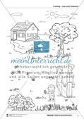 Vom Situationsbild zum Lesen, Thema Frühling: Unterrichtsentwurf und Materialien komplett Preview 9