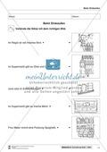 Leseförderung Einkaufen: Arbeitshinweise, Unterrichtsmodell, Bilder, Arbeitsblätter, Lesespiel und Kontrollblatt Preview 11