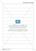 Leseförderung Einkaufen: Arbeitshinweise, Unterrichtsmodell, Bilder, Arbeitsblätter, Lesespiel und Kontrollblatt Preview 16