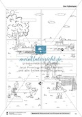Leseförderung Fußballspielen: Arbeitshinweise, Unterrichtsmodell, Bilder, Arbeitsblätter, Lesespiel und Kontrollblatt Preview 10