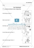 Leseförderung Fußballspielen: Arbeitshinweise, Unterrichtsmodell, Bilder, Arbeitsblätter, Lesespiel und Kontrollblatt Preview 11