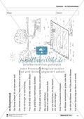 Leseförderung Sommer: Arbeitshinweise, Unterrichtsmodell, Bilder, Arbeitsblätter, Lesespiel und Kontrollblatt Preview 14