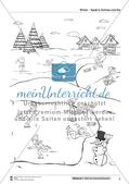 Leseförderung Winter: Arbeitshinweise, Unterrichtsmodell, Bilder, Arbeitsblätter, Lesespiel und Kontrollblatt Preview 10