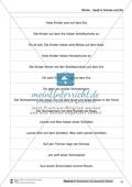 Leseförderung Winter: Arbeitshinweise, Unterrichtsmodell, Bilder, Arbeitsblätter, Lesespiel und Kontrollblatt Preview 12