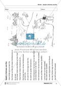 Leseförderung Winter: Arbeitshinweise, Unterrichtsmodell, Bilder, Arbeitsblätter, Lesespiel und Kontrollblatt Preview 14