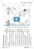 Leseförderung Winter: Arbeitshinweise, Unterrichtsmodell, Bilder, Arbeitsblätter, Lesespiel und Kontrollblatt Preview 16