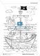 Leseförderung Piratenschiff: Unterrichtsmodell, Bilder, Arbeitsblätter, Lesespiel und Kontrollblatt Thumbnail 4