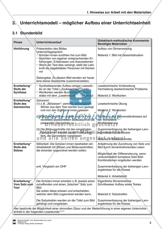Leseförderung Badezimmer: Unterrichtsmodell, Bilder, Arbeitsblätter, Lesespiel und Kontrollblatt Preview 0
