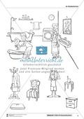 Leseförderung Badezimmer: Unterrichtsmodell, Bilder, Arbeitsblätter, Lesespiel und Kontrollblatt Preview 5
