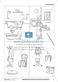 Leseförderung Badezimmer: Unterrichtsmodell, Bilder, Arbeitsblätter, Lesespiel und Kontrollblatt Thumbnail 6