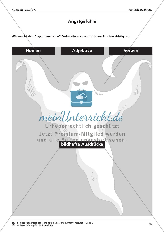 Schreibtraining Fantasieerzählung: Kompetenzstufe A: Arbeitsblätter ...